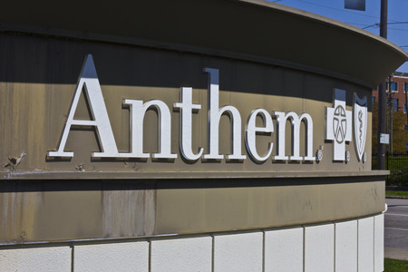 trusted: Indianapolis - Circa April 2016: Anthem World Headquarters. Anthem is a Trusted Health Insurance Plan Provider VI Editorial