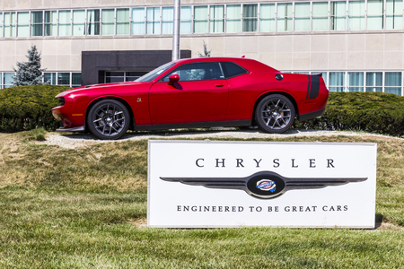 automaker: Kokomo - Circa November 2015: Chrysler Transmission Plant. Fiat Chrysler Automobiles is the seventh-largest automaker in the world III