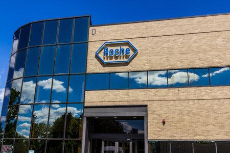 Indianapolis - Circa August 2016: Roche Diagnostics U.S. Headquarters. Roche Diagnostics is a Global Leader in Healthcare III