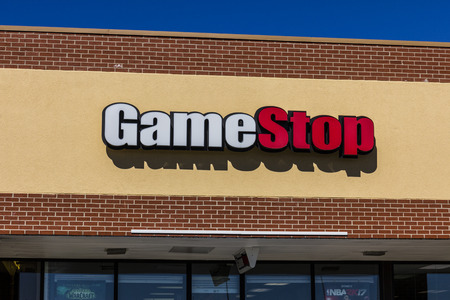 retailer: Indianapolis - Circa August 2016: GameStop Retail Mall Location. GameStop, is an American video game, consumer electronics, and wireless services retailer I