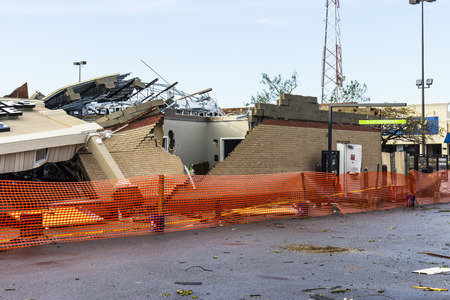 Kokomo - August 24, 2016: Several EF3 tornadoes touched down, one of which destroyed a local Starbucks 2