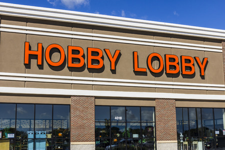 principled: Muncie - Circa September 2016: Hobby Lobby Retail Location. Hobby Lobby is a Privately Owned Christian Principled Company III