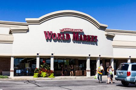 world market: Indianapolis - Circa September 2016: Cost Plus World Market Retail Location. Cost Plus, Inc. Imports Specialty Products Internationally I