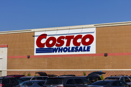 retailer: Indianapolis - Circa September 2016: Costco Wholesale Location. Costco Wholesale is a Multi-Billion Dollar Global Retailer VI