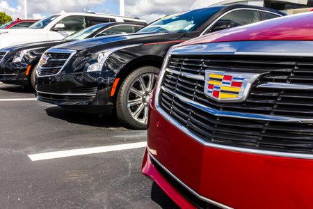 インディ アナポリス - 2016 年 9 月頃: キャデラックの自動車ディーラー。キャデラックは一般的な自動車 IV の高級部門です。