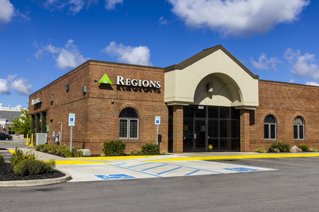 lender: Indianapolis - Circa September 2016: Regions Financial Corporation. Regions is the only member of the Fortune 500 headquartered in Alabama III