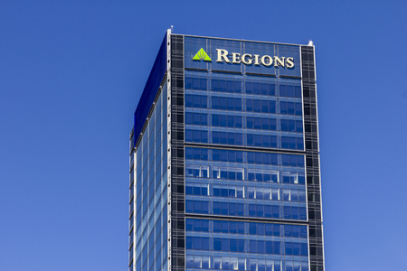 lender: Indianapolis - Circa September 2016: Regions Financial Corporation. Regions is the only member of the Fortune 500 headquartered in Alabama IV