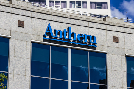 health care provider: Indianapolis - Circa September 2016: Anthem World Headquarters. Anthem is a Trusted Health Insurance Plan Provider IX