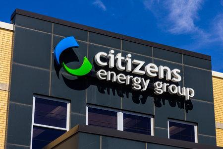 Indianápolis - alrededor de septiembre de 2016: Grupo de Ciudadanos y la Energía, una empresa de servicios de utilidad de base amplia II Foto de archivo - 63407015
