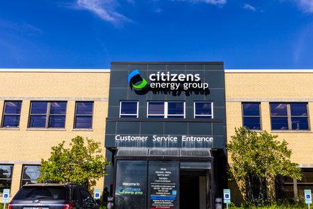 Indianápolis - alrededor de septiembre de 2016: Grupo de Ciudadanos y la Energía, una empresa de servicios de utilidad de base amplia que Foto de archivo - 63406532
