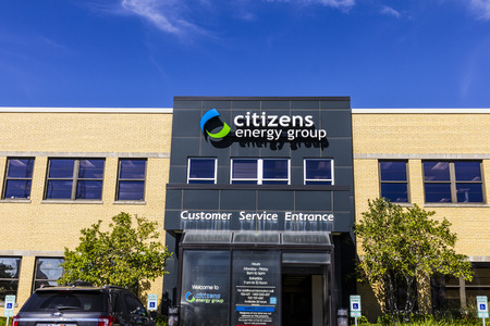 indianapolis: Indianapolis - Circa September 2016: Citizens Energy Group, a broad-based utility service company I