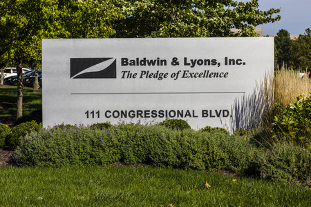 casualty: Carmel - Circa September 2016: Baldwin & Lyons headquarters, underwriters of property and casualty insurance II