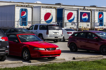 Indianapolis - Circa September 2016: Pepsi Bottling Location. Pepsi is one of the largest beverage producers in the world I