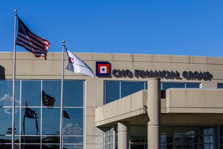 Carmel - Circa september 2016: hoofdkantoor CNO Financial Group. CNO was voorheen bekend als Conseco Inc. II