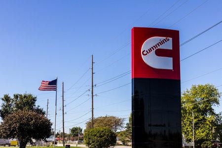 인디애나 폴리스 - Circa October 2016 : Cummins Inc.는 제조업 자입니다 엔진 및 발전 장비 IV