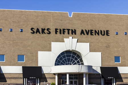 fifth: Indianapolis - Circa October 2016: Saks Fifth Avenue Mall Location. Saks is a luxury department store owned by the Hudsons Bay Company I