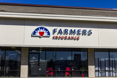 underwriter: Indianapolis - Circa October 2016: Farmers Insurance Group Agent Location. Farmers Provides Home, Life and Car Insurance II Editorial