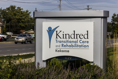 kindred: Kokomo - Circa October 2016: Kindred Transitional Care and Rehabilitation, a division of Kindred Healthcare Incorporated IV Editorial