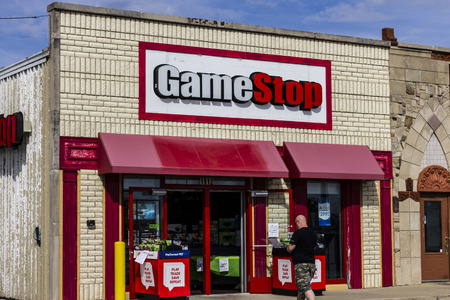 retailer: Kokomo - Circa October 2016: GameStop Strip Mall Location. GameStop is a Video Game and Electronics Retailer III