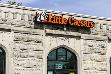 Kokomo - Circa October 2016: Little Caesars Pizza Franchise. Little Caesars is a Carry-Out Chain Featuring Pizza and Wings III