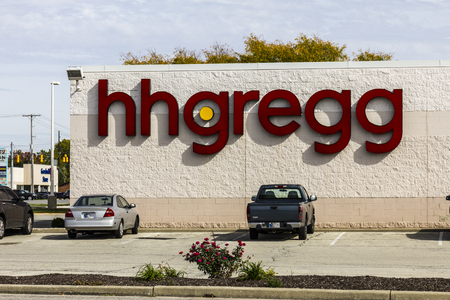 retailer: Kokomo - Circa October 2016: hhgregg location. hhgregg is a retailer of consumer electronics and home appliances III Editorial