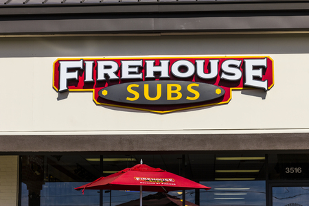Indianapolis - Circa November 2016: Firehouse Subs fast casual restaurant. Firehouse specializes in hot submarine sandwiches I