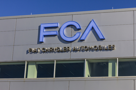 Tipton - Circa November 2016: FCA Fiat Chrysler Automobiles Transmission Plant. FCA sells vehicles under the Chrysler, Dodge, and Jeep brands I