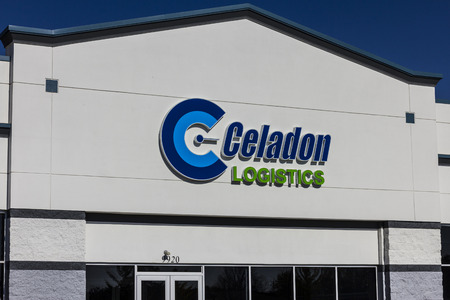 Indianapolis - Circa November 2016: Celadon Trucking Headquarters. Celadon is one of the largest transportation and logistics companies in North America I