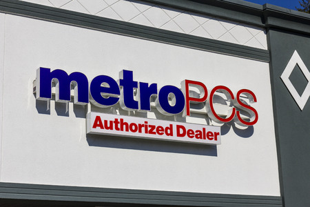part of me: Indianapolis - Circa November 2016: MetroPCS Retail Location. MetroPCS is a prepaid wireless service that is part of T-Mobile I