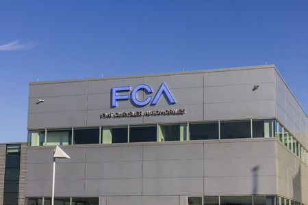 Tipton - Circa November 2016: FCA Fiat Chrysler Automobiles Transmission Plant. FCA sells vehicles under the Chrysler, Dodge, and Jeep brands III