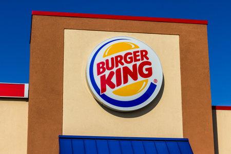 Kokomo - Circa November 2016: Burger King Retail Fast Food Location. Every day, more than 11 million guests visit Burger King I Editöryel