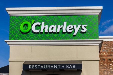 part of me: Indianápolis - alrededor de noviembre de 2016: de O'Charley Casual Dining restaurante. O'Charley es parte de American Blue Ribbon Holdings I Editorial