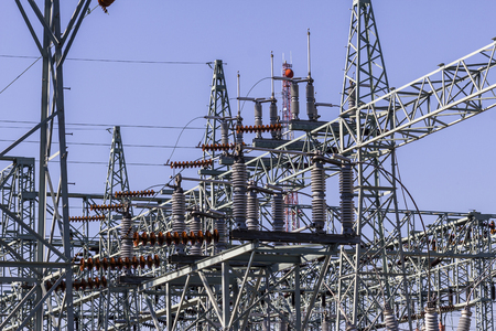 Dangerous High Voltage Electrical Power Substation II