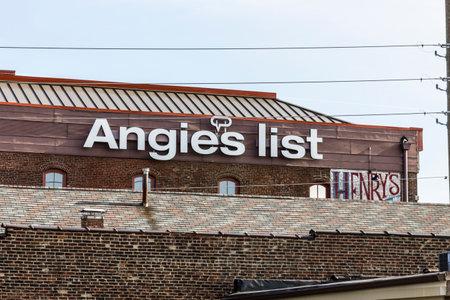 Indianapolis - Circa november 2016: Angie's List UD en Headquarters VI Redactioneel