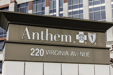 health care provider: Indianapolis - Circa November 2016: Anthem World Headquarters. Anthem is a Trusted Health Insurance Plan Provider X