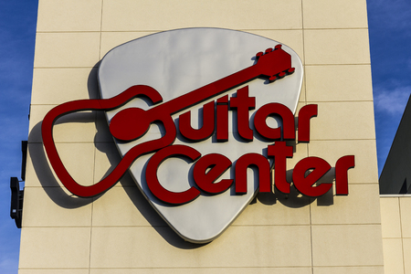 Las Vegas - Circa December 2016: Guitar Center Mall Location. Guitar Center is the largest chain of musical instrument retailers in the world I
