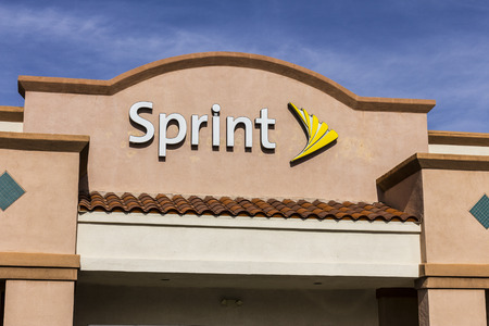 Las Vegas - Circa December 2016: Sprint Retail Wireless Store. Sprint is a Subsidiary of Japan's SoftBank Group Corporation VI Sajtókép