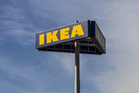 furniture store: Las Vegas - Circa December 2016: IKEA Home Furnishings Store. Founded in Sweden, IKEA is the worlds largest furniture retailer I