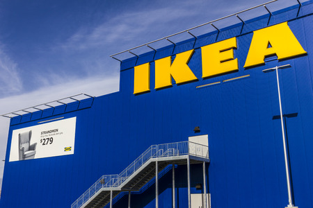 home furnishings: Las Vegas - Circa December 2016: IKEA Home Furnishings Store. Founded in Sweden, IKEA is the worlds largest furniture retailer III Editorial