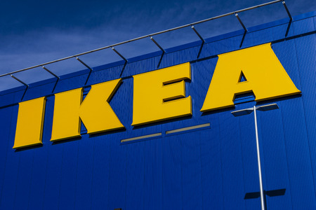 furniture store: Las Vegas - Circa December 2016: IKEA Home Furnishings Store. Founded in Sweden, IKEA is the worlds largest furniture retailer II