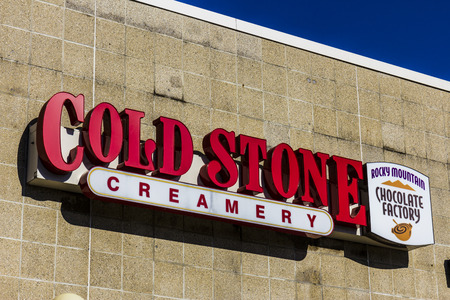 creamery: Lafayette - Circa December 2016: Cold Stone Creamery Ice Cream Parlor Location. Cold Stone is owned and operated by Kahala Brands I Editorial
