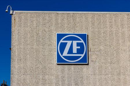 friedrichshafen: Lafayette - Circa December 2016: ZF Friedrichshafen Steering Factory. ZF Friedrichshafen acquired TRW Automotive in 2015 I