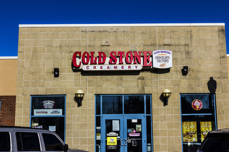 creamery: Lafayette - Circa December 2016: Cold Stone Creamery Ice Cream Parlor Location. Cold Stone is owned and operated by Kahala Brands II