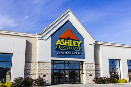 Indianapolis - Circa November 2016: Ashley Furniture Homestore Retail Location. Ashley Homestore is the largest home furniture retailer in North America I