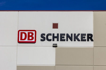 db: Indianapolis: Circa January 2017: DB Schenker USA Freight Forwarding Service Location I Editorial