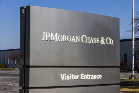 Indianapolis - Circa February 2017: JPMorgan Chase Operations Center. JPMorgan Chase and Co. is the largest bank in the United States I