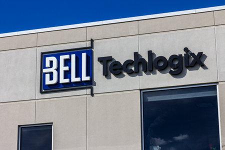 Indianapolis - Circa September 2016: Bell Techlogix LogixCenter 1 Headquarters I Sajtókép
