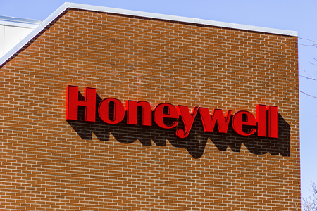 Muncie - Circa March 2017: Honeywell International Maxon Factory. Maxon makes Industrial Burners and Combustion Equipment I Éditoriale