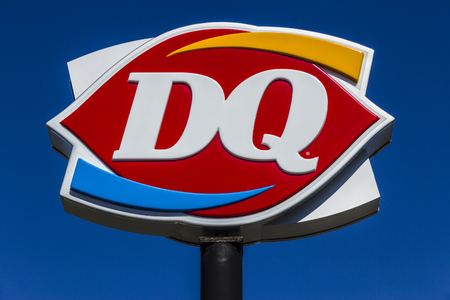 Muncie - Circa March 2017: Dairy Queen Retail Fast Food Location. DQ is a Subsidiary of Berkshire Hathaway VI