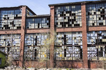 run down: Urban Blight - Old Abandoned Railroad Factory X